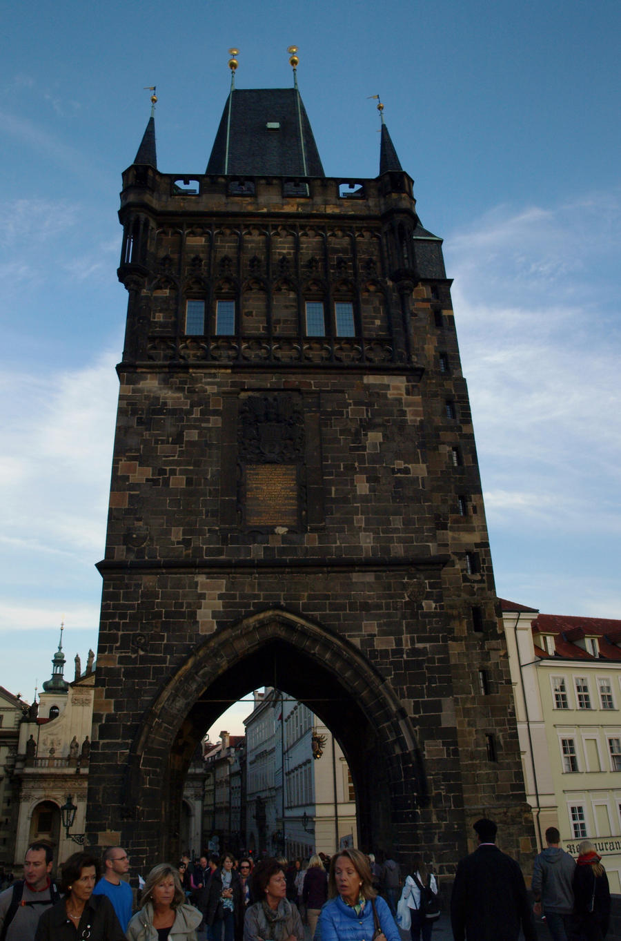Entrance Tower at Charles Bridge03 by abelamario