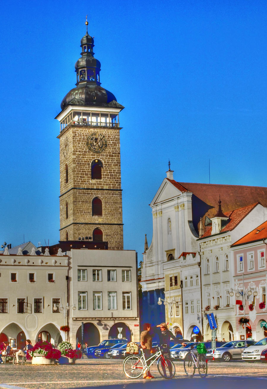 Main Square in Ceske Budejovice04 by abelamario