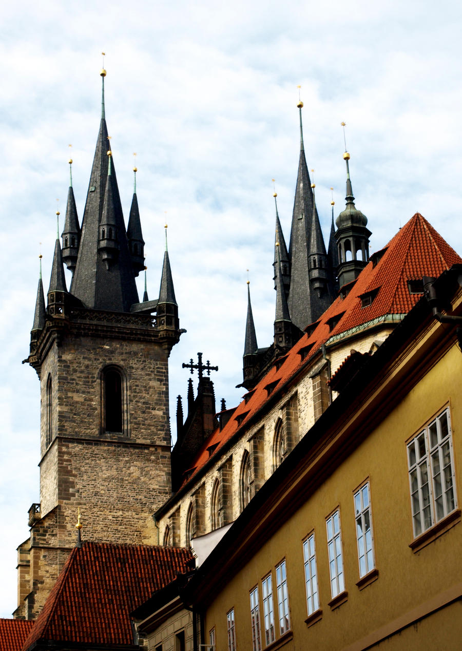 Architecture Appreciation in Prague10 by abelamario
