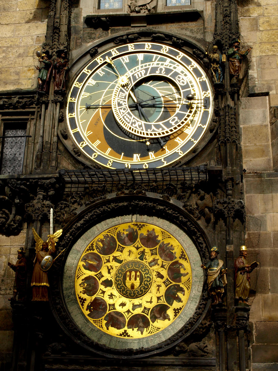 Detail of the Astronomical Clock01 by abelamario