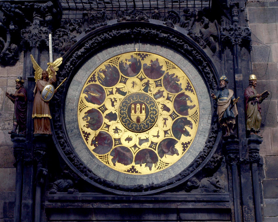 Detail of the Astronomical Clock03 by abelamario
