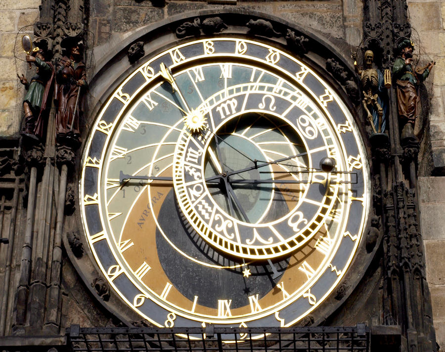 Detail of the Astronomical Clock04 by abelamario