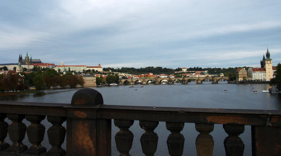 Charles Bridge and The Castle04 by abelamario