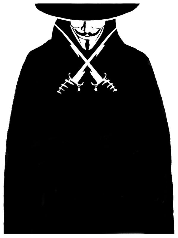 v for vendetta coloring pages - photo #13