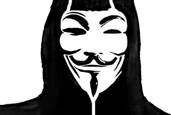 V For Vendetta Mask Stencil Pinterest • T...