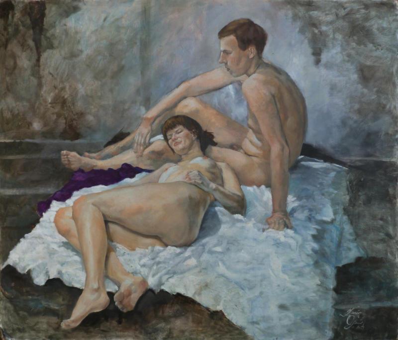 Kristiina and Jaan by DeathOfParadise