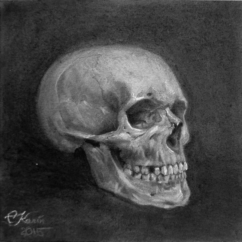 Skull by DeathOfParadise