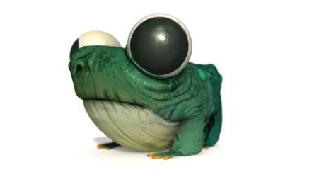 frog 3d by Murph3