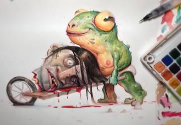 Frog Killer by Murph3