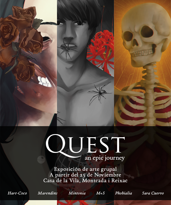 QUEST group art exhibition by phobialia