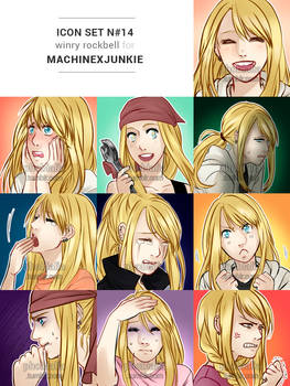 (C) RP icon set #14: Winry Rockbell