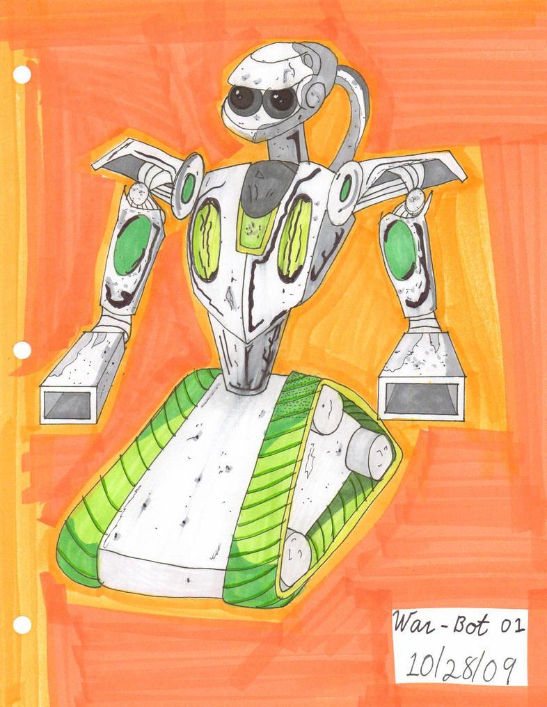 War-Bot 01 09-28-10 by Lisa22882