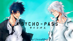 Psycho-Pass Kougami Shinya and Shogo Makishima