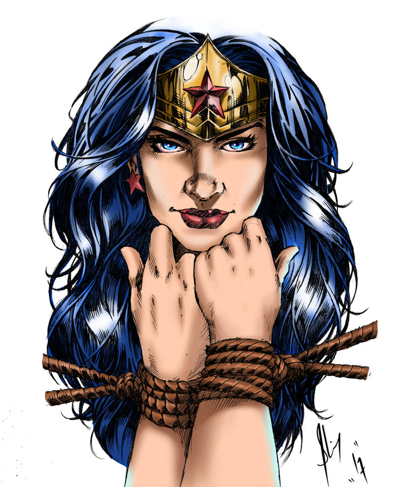 Wonder woman  by Fantom17