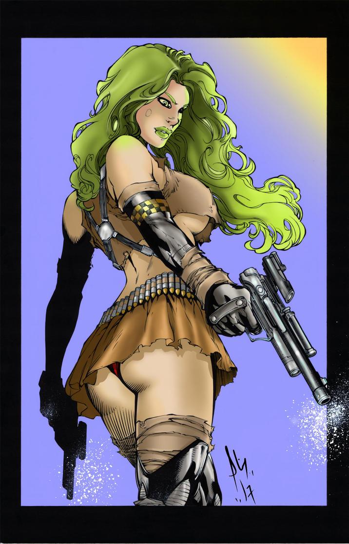 Aphrodite Ix By Knockmesilly ( Manga Studio 5 ) by Fantom17