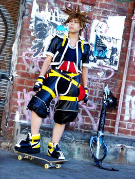 Kingdom Hearts II - Sora