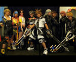 KHII and FFX-2 Cosplayers