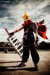 Cloud - Kingdom Hearts Cosplay