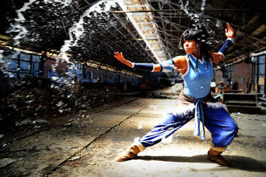 Legend of Korra: Avatar Element Water by K-tetsu