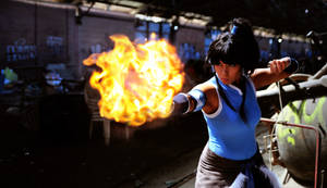 Legend of Korra: Avatar Element Fire