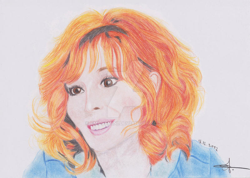 Mylene Farmer by Emi-Gemini