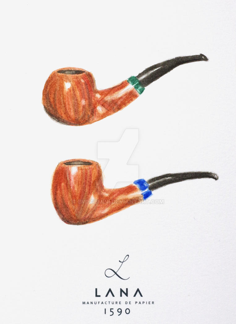 These are not pipes - Magritte tribute by Emi-Gemini