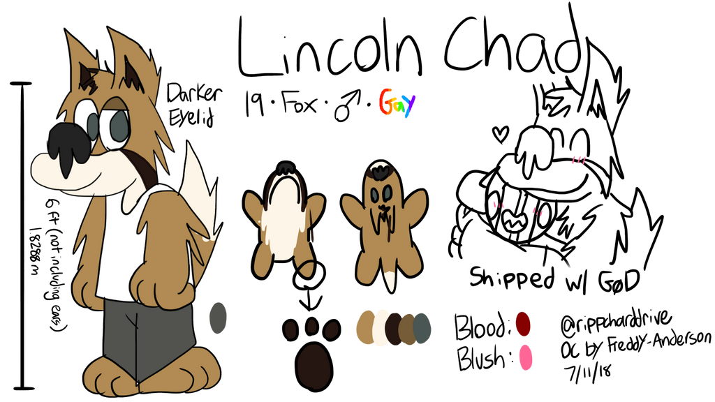 Lincolns Ref by rippcharddrive