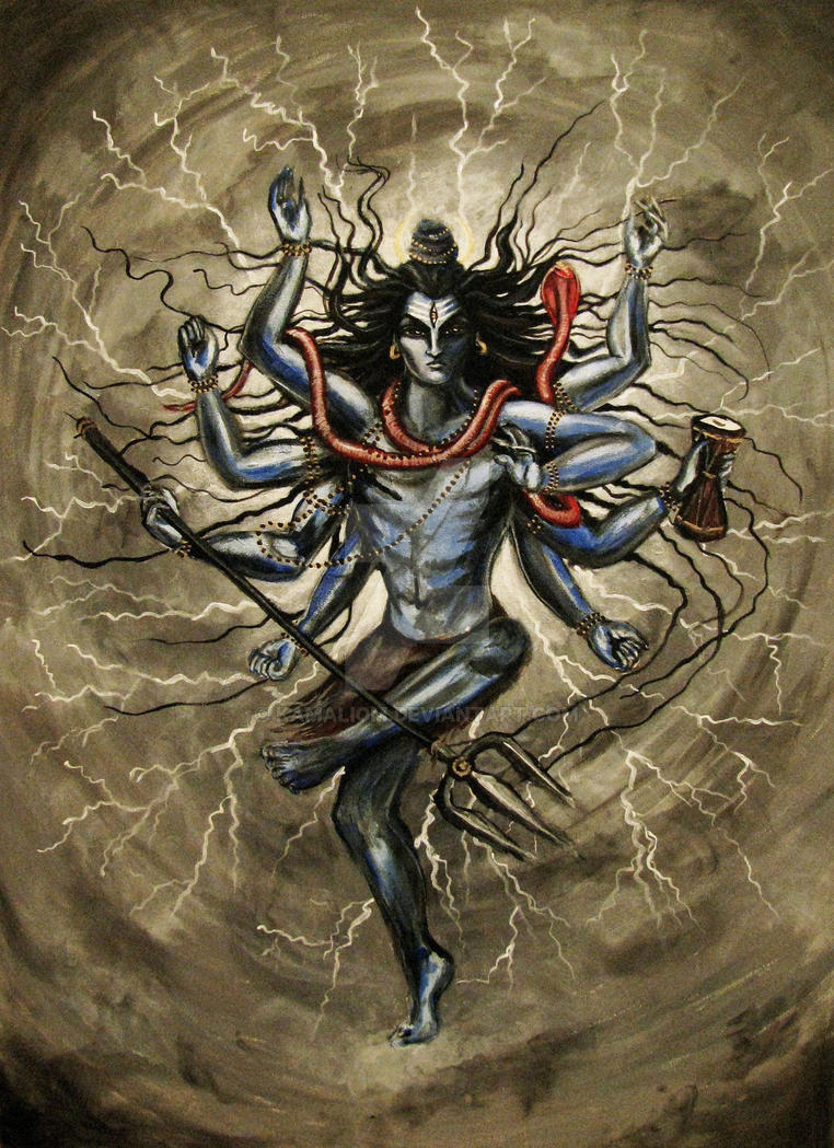 Lord Shiva the Destroyer by KamaliOm
