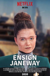 Ensign Janeway Series Poster (Concept)