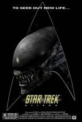 Star Trek: Aliens (Concept Movie Poster)