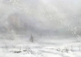 snowfall by LouieLorry