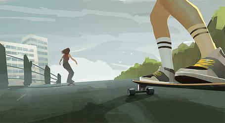 Longboard by Marmad