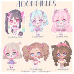 {CLOSED} Adopts - donating money! by EhterealChiye