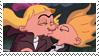 Arnold x Helga Stamp by Tsuba-chama