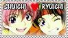 Ryuichi x Shuichi Stamp by Tsuba-chama