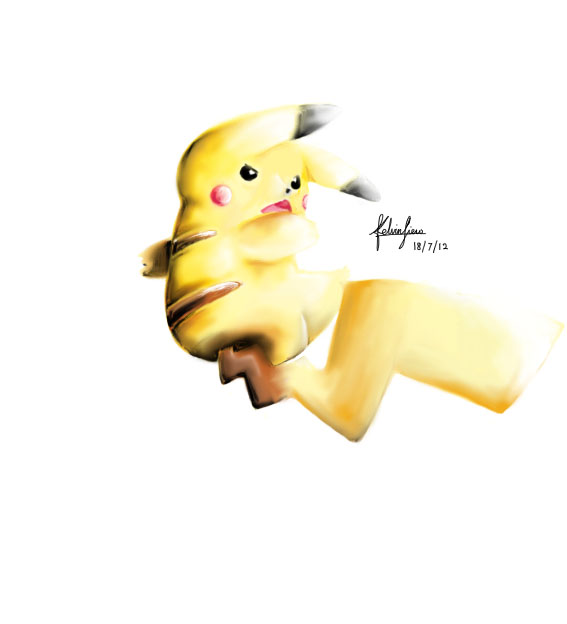 Pikachu by aeroscythel