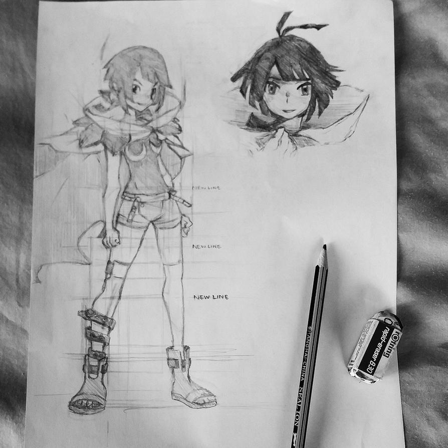 Zinnia - Pokemon Omega Ruby by aeroscythel