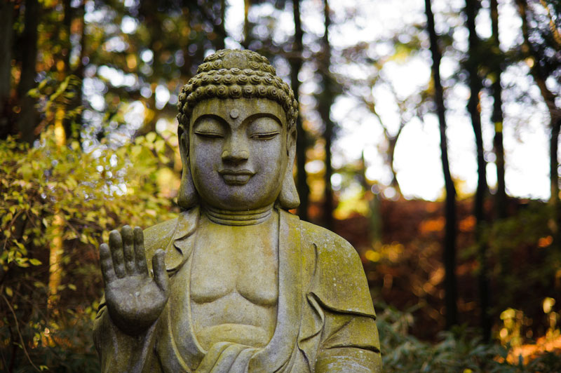 Stone Buddha by Ravncat