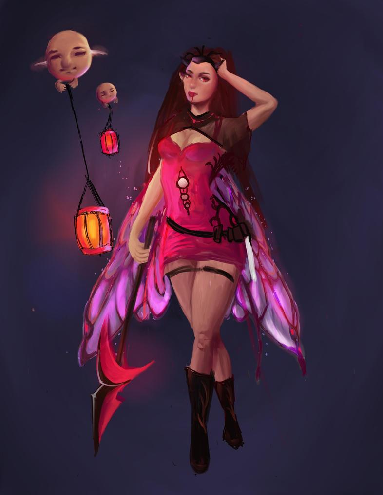 Dark fairy by Mckendryhr
