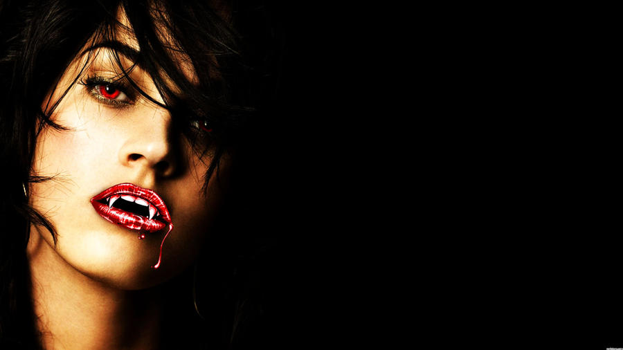 Megan Fox Vampire Wallpaper by Bonercitycreations66 on ...