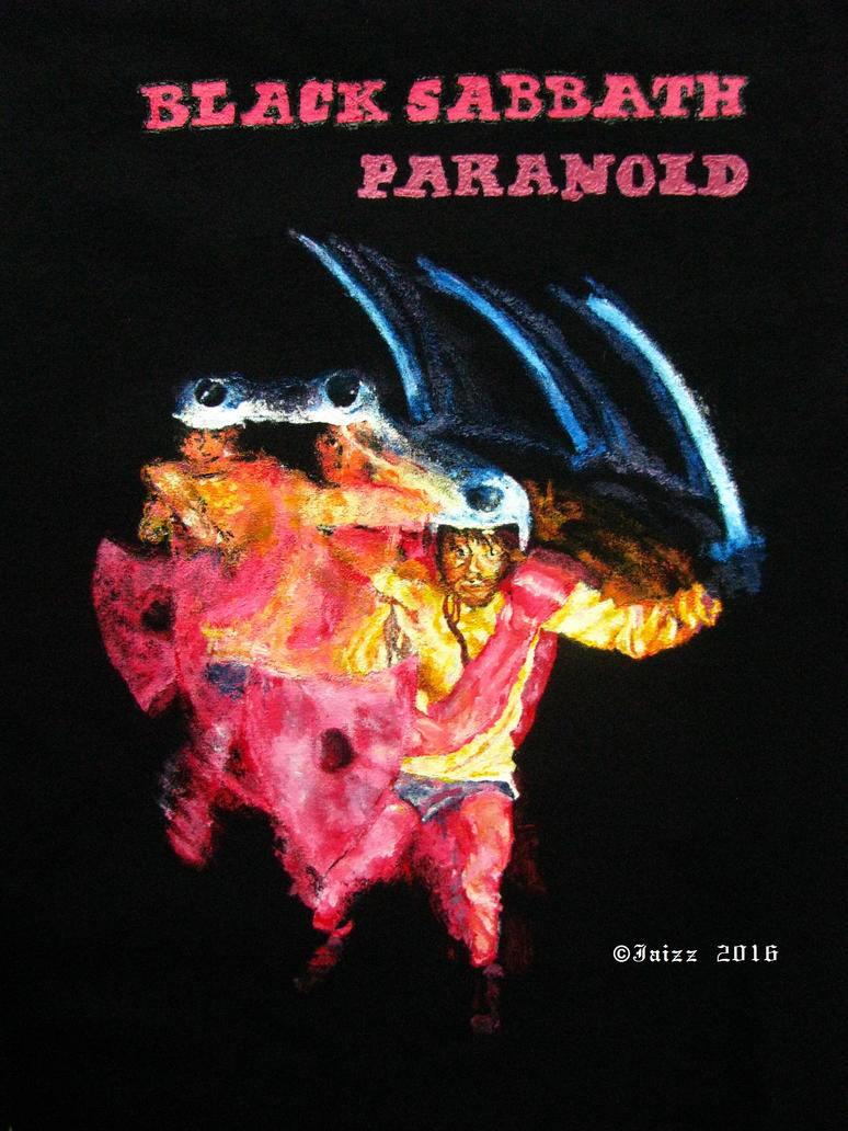 T-shirt: Black Sabbath - Paranoid 1 by Jaizz