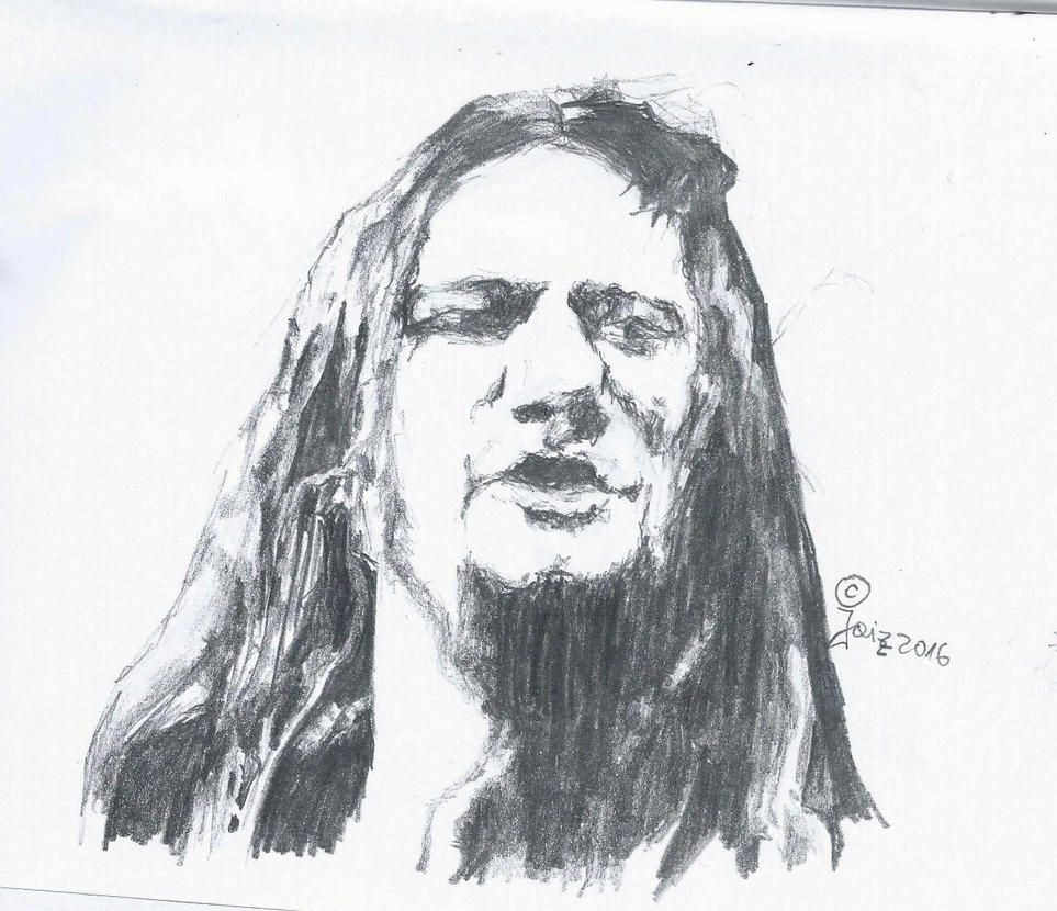 Sketch of Tom Angelripper... by Jaizz