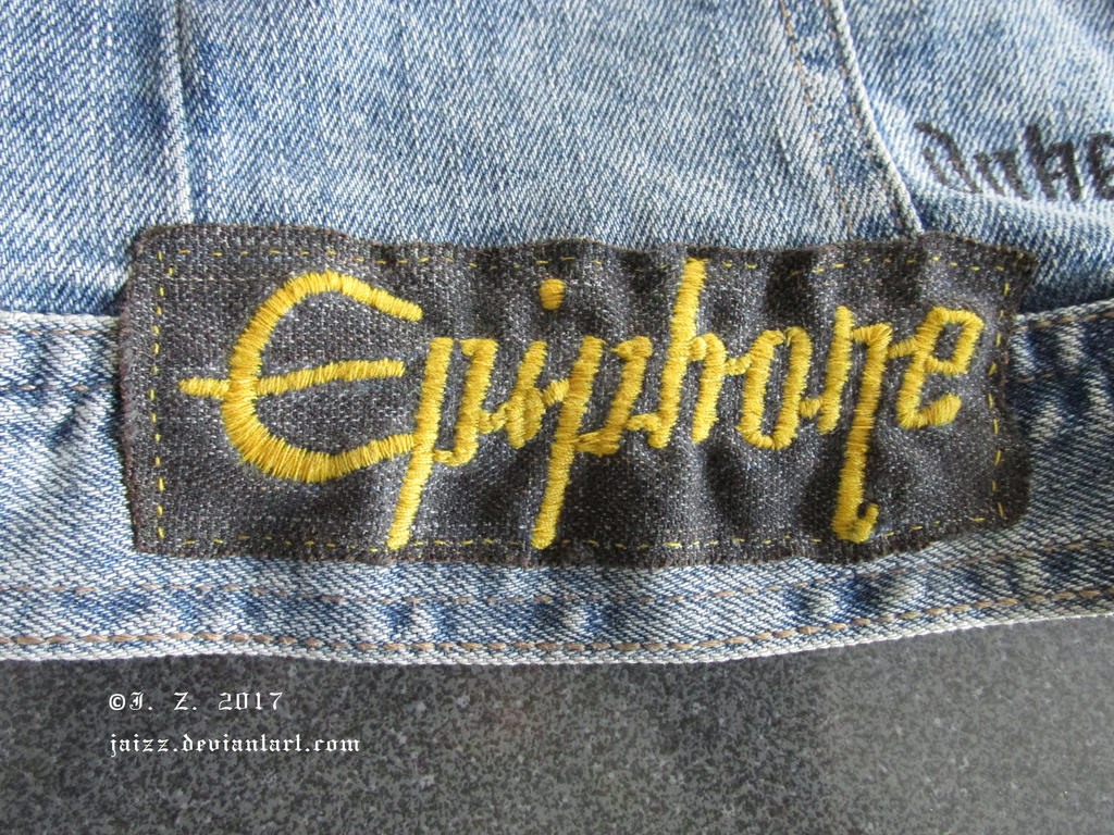 Homemade Epiphone patch by Jaizz