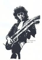 Jimmy Page by Jaizz