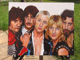 Judas Priest United - acrylic portrait