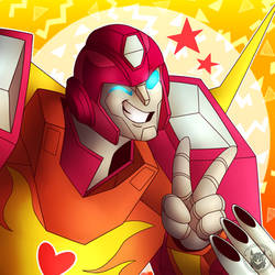 hot rod dARES U TO BELIEVE U CAN SURVIVE by totalchaosmeg