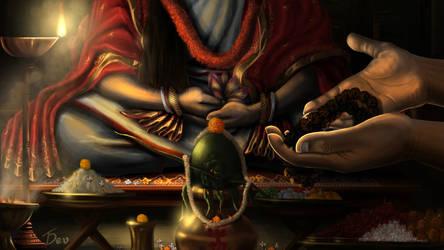 Falaharini Shodashi Puja by Tamojitdev