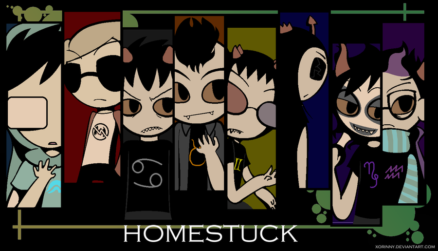 HOMESTUCK BOYS WALLPAPER By Princelupin