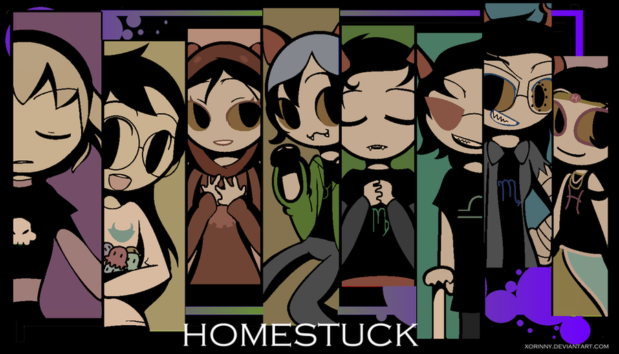 HOMESTUCK GIRLS WALLPAPER By Princelupin