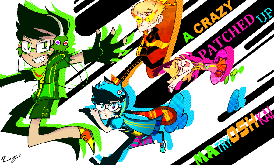 Alpha Kids : MATRYOSHKA-UP! by princelupin